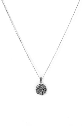 Women's Judith Jack Reversible Pavé Pendant Necklace