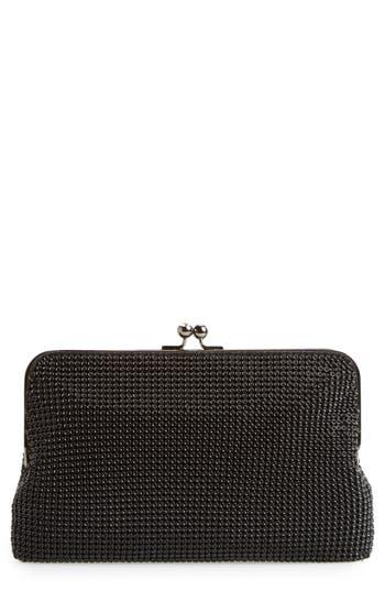 Retro Handbags, Purses, Wallets, Bags Whiting  Davis Mesh Clutch - Black $155.00 AT vintagedancer.com