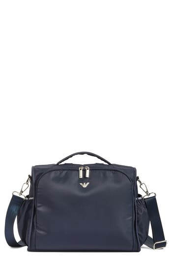 Infant Girl's Armani Junior Backpack Diaper Bag - Blue