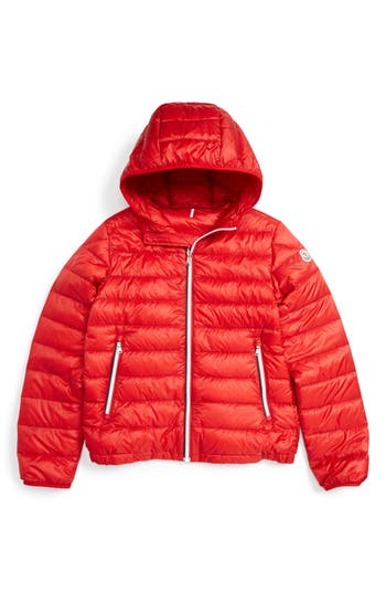 Toddler Moncler Athenes Water Resistant Hooded Down Jacket