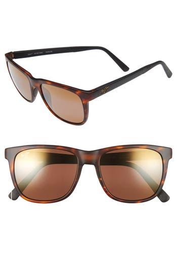 Maui Jim Tail Slide 5m Polarized Sunglasses - Tortoise With Black