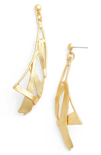 Women's Karine Sultan Sail Drop Earrings