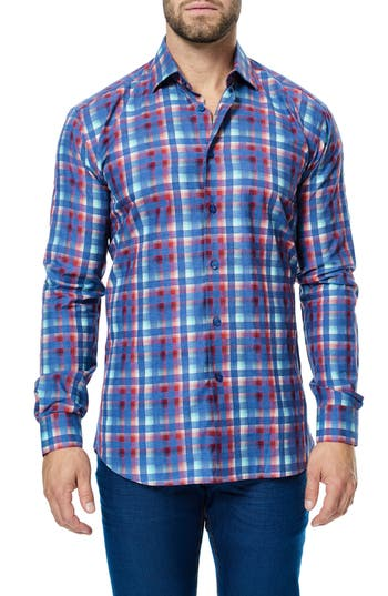 Men's Maceoo Luxor Check Sport Shirt
