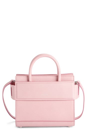 396c40a79a2 Givenchy Mini Horizon Grained Calfskin Leather Tote - Pink In Baby Blue