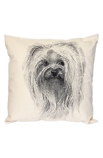Eric & Christopher Animal Accent Pillow, Size One Size - Beige