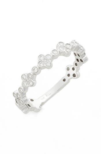 Women's Bony Levy Stackable Diamond Clover Ring (Nordstrom Exclusive)