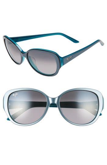 Maui Jim Swept Away 5m Polarizedplus2 Sunglasses - Blue Grey/ Teal/ Neutral Grey