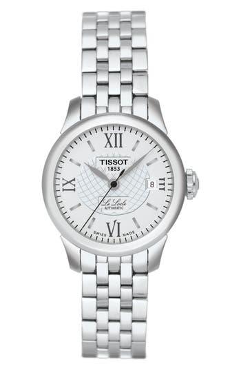 Women's Tissot Le Locle Automatic Bracelet Watch, 25Mm