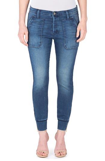 Women's Fidelity Denim Mikey Ankle Zip Jogger Jeans