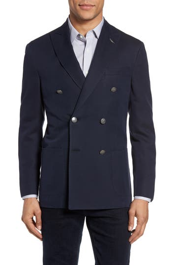 Men's Michael Bastian Classic Fit Double Breasted Blazer