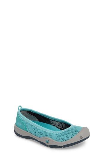 Girl's Keen Moxie Flat, Size 4 M - Blue/green