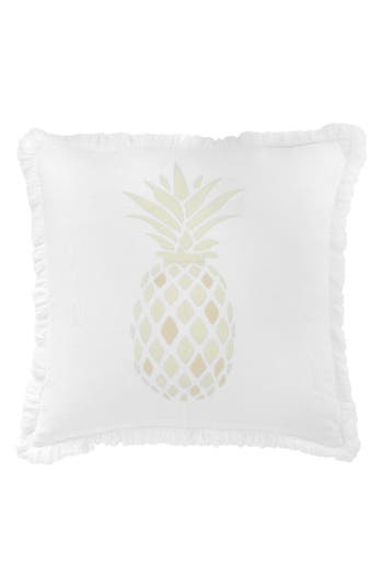 Southern Hospitality Pineapple Accent Pillow, Size One Size - White