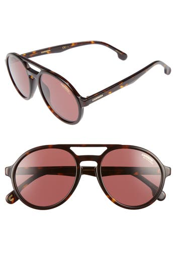 Carrera Pace 5m Polarized Pilot Sunglasses - Havana