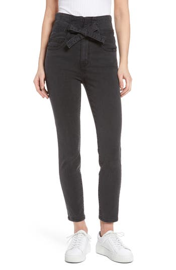 Women's Current/elliott Corset Stiletto Ankle Skinny Jeans