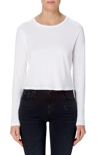 Women's J Brand Carolina Long Sleeve Crop Tee