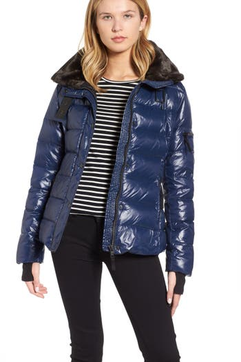 S13/nyc Mercer Down & Feather Fill Jacket, Black