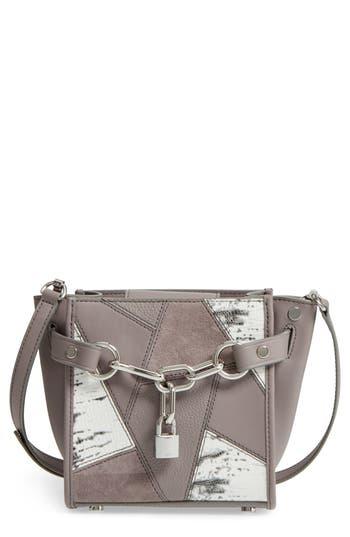 Alexander Wang Mini Attica Patchwork Leather Satchel -
