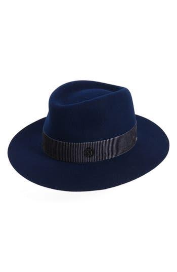 Women's Maison Michel Andre Fur Felt Hat - Blue