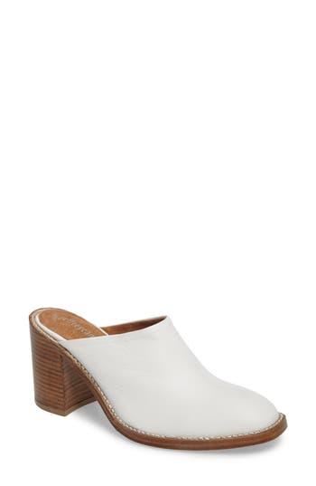 Women's Jeffrey Campbell Deepika Block Heel Mule, Size 5 M - White