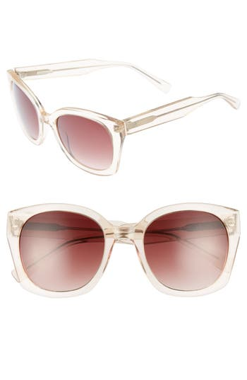 Women's Derek Lam Sadie 54Mm Sunglasses - Ink