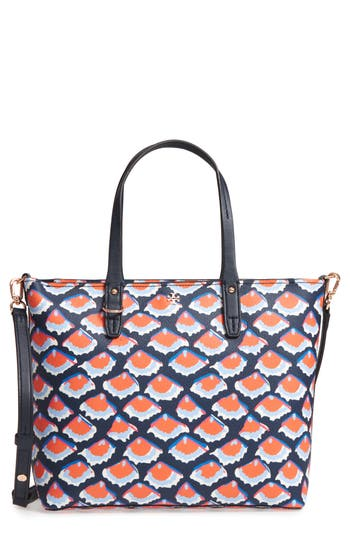 Tory Burch Small Kerrington Square Tote - Blue