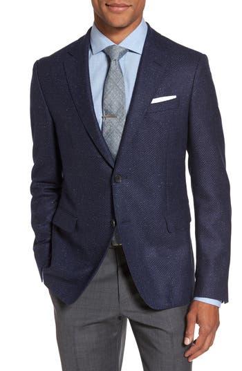 Men's Boss Nobis Trim Fit Wool & Silk Blazer