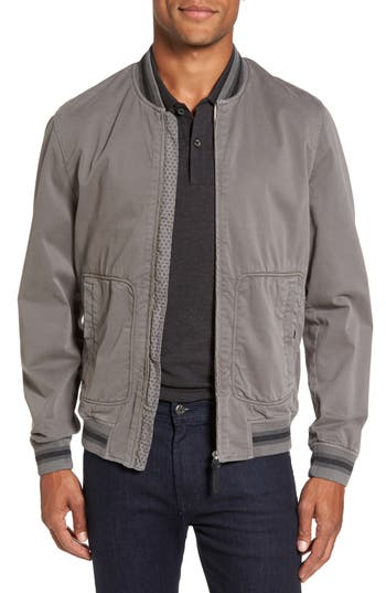 Men's Ted Baker London Robot Laundered Bomber Jacket
