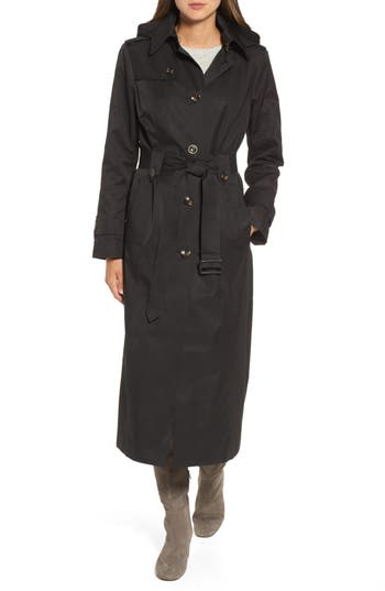 Women's London Fog Long Trench Coat