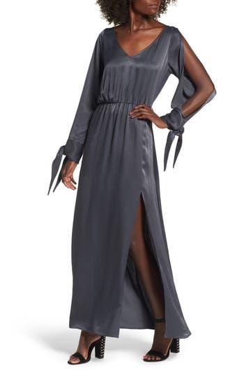 Leith Split Sleeve Maxi Dress, Blue