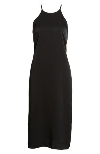 Women's Soprano High Neck Shift Dress, Size X-Small - Black