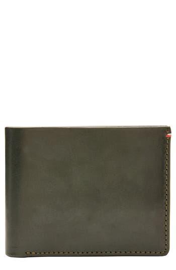 Jack Mason Core Leather Wallet - Green