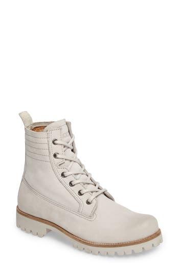 Blackstone Ol23 Lace-Up Boot Grey