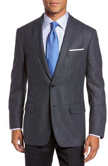 Hart Schaffner Marx  CLASSIC FIT CHECK WOOL SPORT COAT