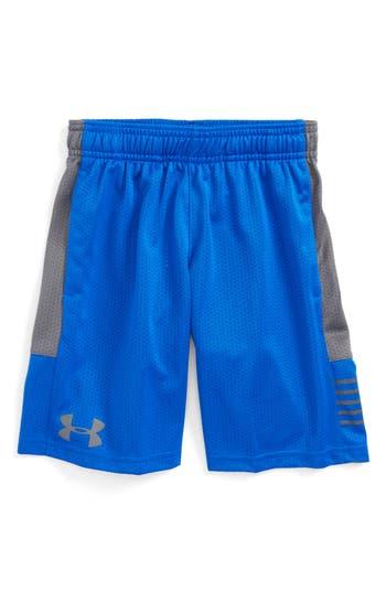 Boy's Under Armour Train To Game Heatgear Mesh Shorts