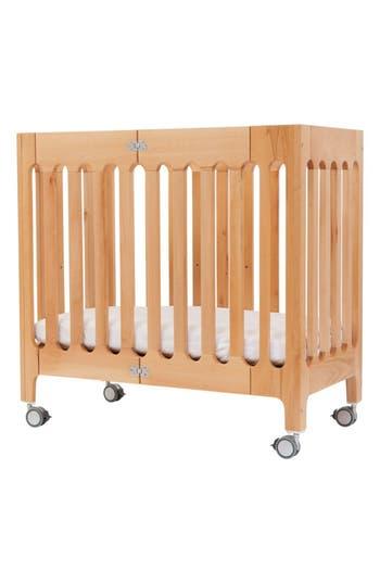 infant bloom baby alma urban mini solid wood crib