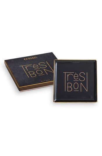 Rosanna Tres Bon Tray, Size One Size - Black