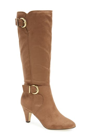 Bella Vita Toni Ii Knee High Boot, Wide Calf- Beige