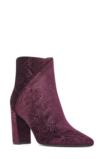 Nine West Argyle Bootie- Purple