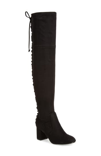 Charles By Charles David Ollie Over The Knee Boot, Black