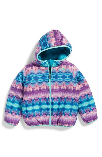 Toddler Girl's The North Face Perrito Reversible Water-Repellent Hooded Jacket