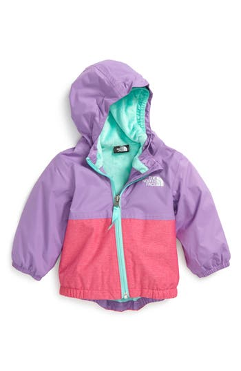 Infant Girl's The North Face Warm Storm Hooded Waterproof Jacket
