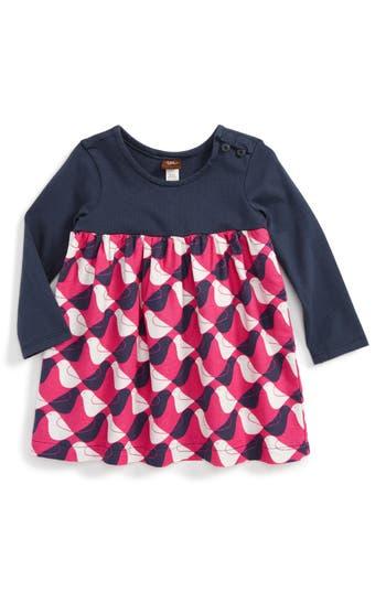 Infant Girl's Tea Collection Argyle Birds Dress