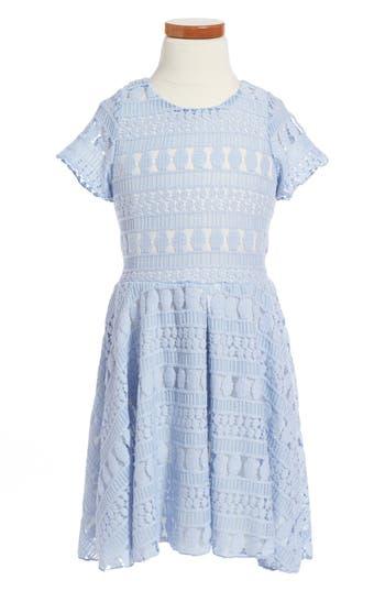 Girl's Twirls & Twigs Lace Dress
