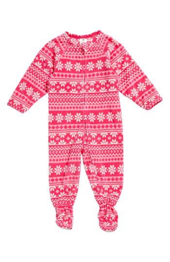 Infant Girl's Tucker + Tate Blanket Sleeper, Size S (6-9m) - Pink