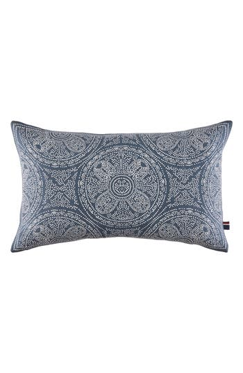 Tommy Hilfiger Batik Indigo Accent Pillow, Size One Size - Blue