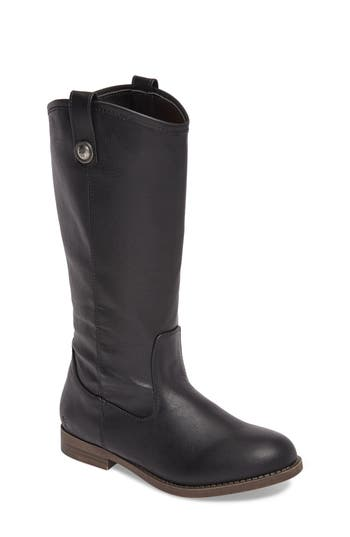 Toddler Girl's Frye Melissa Button Riding Boot, Size 12 M - Black