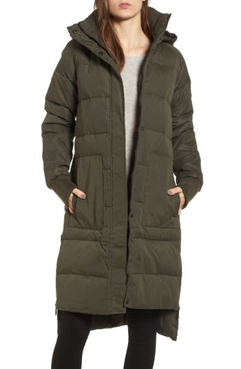 Bcbgeneration Down & Feather Fill Puffer Jacket, Green