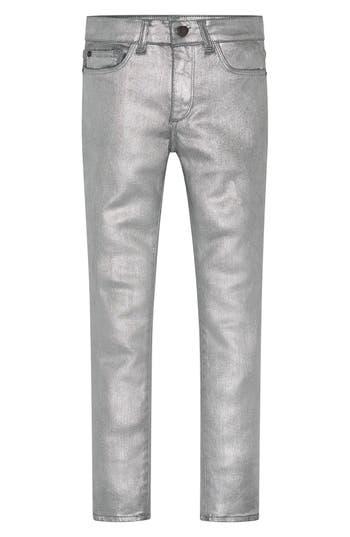 Girl's Dl1961 Chloe Coated Skinny Jeans