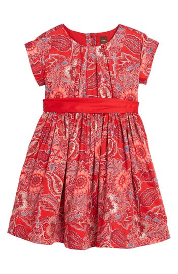 Girl's Tea Collection Adaira Sash Dress