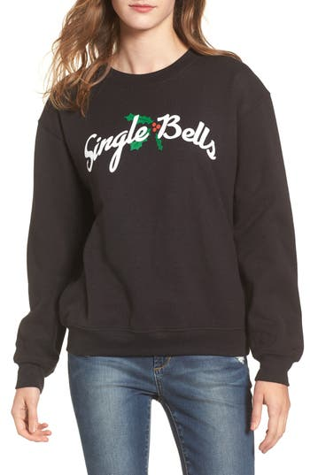 Women's Sub Urban Riot Bells Willow Sweatshirt, Size X-Small - Black